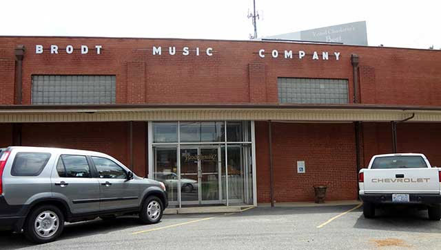 Charlotte's Brodt Music Company to Close After 78 Years