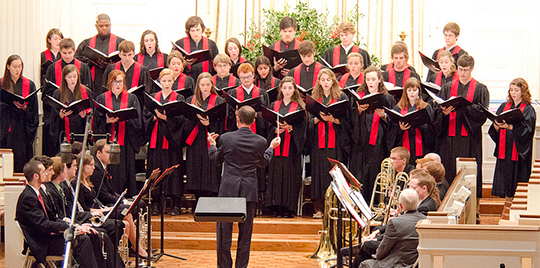 Christmas Vespers at Davidson College