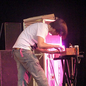 Greenwood playing an ondes Martenot