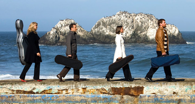 Cypress String Quartet photo by Basil Childers