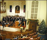Choirs perform at St. John's Baptist Church