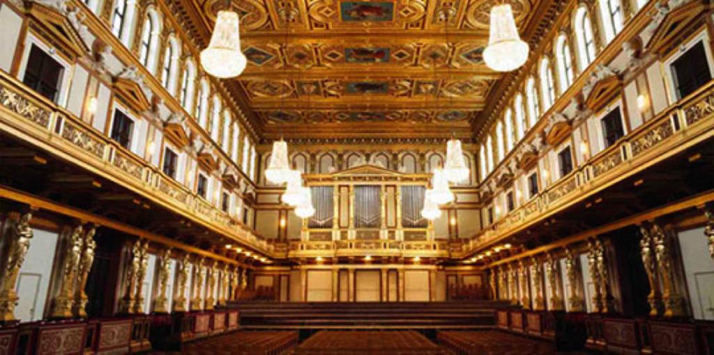 Wiener Musikverein in Vienna, Austria