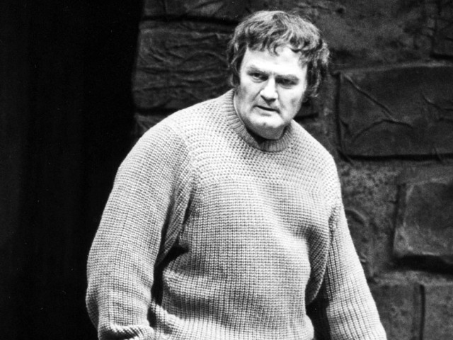 Tenor Jon Vickers in the title role of Benjamin Britten's opera Peter Grimes at New York's Metropolitan Opera in 1983.