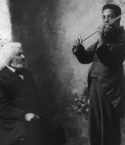 Frederick Douglass: Violinist and Music Lover