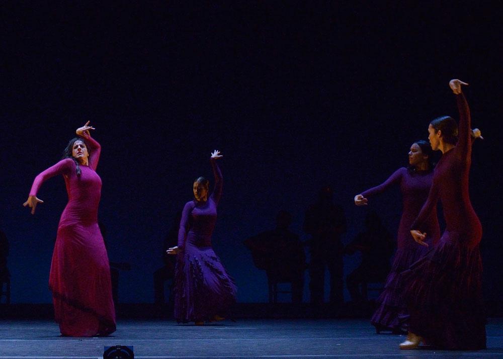 Flamenco luminary MarÍa Pagés brings her work, Yo, Carmen, to the Gaillard Center on May 27 and 28, 2017. Photo courtesy of Spoleto Festival USA / Davind Ruano