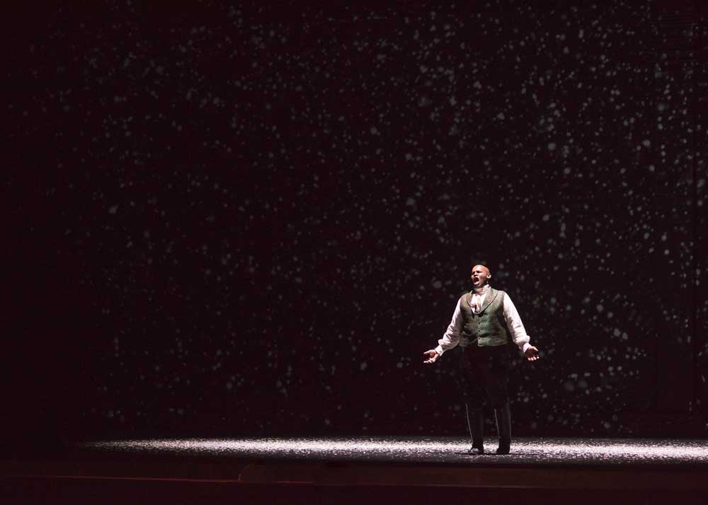amez McCorkle as Vladimir Lenski in Eugene Onegin at Spoleto Festival USA. Photo by Leigh Webber Photography.