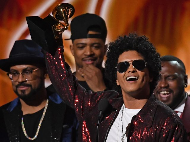 Bruno Mars swept the major categories at the 2018 Grammy Awards.