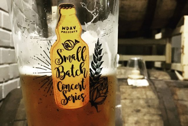 Small Batch Concert Series commemorative pint glass.