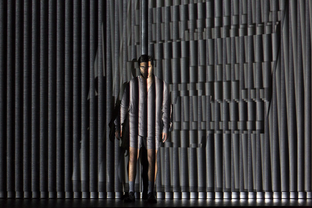 Elliot Madore in Tree of Codes, with music and libretto by Liza Lim. Photo by William Struhs.