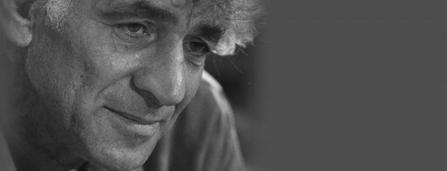Leonard Bernstein close up headshot