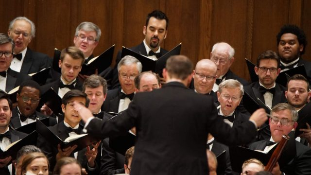 Charlotte Master Chorale, photo courtesy of John Cosmas