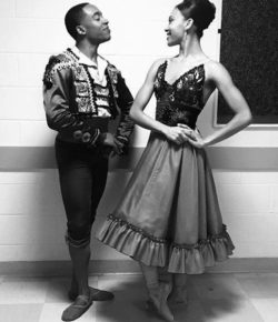 Raven Barkley & Maurice Mouzon on Charlotte Ballet's The Nutcracker