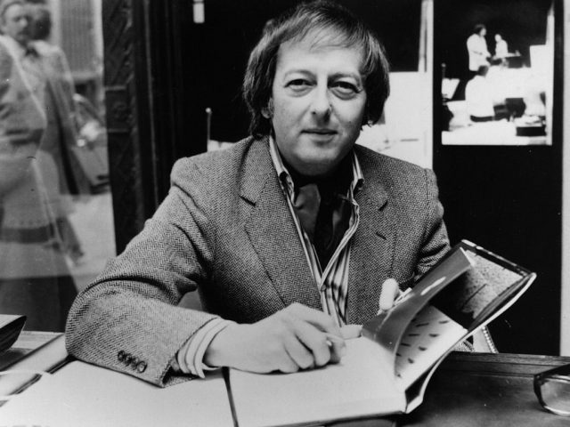 André Previn in London in 1979. Previn died Thursday in Manhattan, at the age of 89.