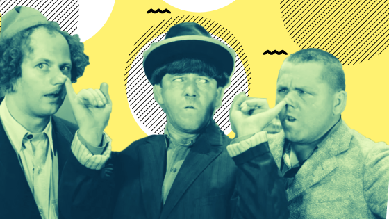 Slapstick comedy pioneers.