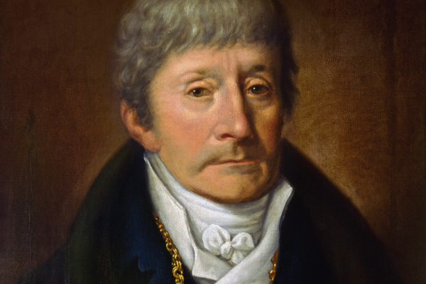 Antonio Salieri, painted by Joseph Willibrord Mahler.