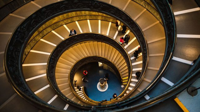 Spiral Staircase; Photo by YIFEI CHEN