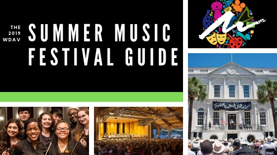 The 2019 WDAV Summer Music Festival Guide