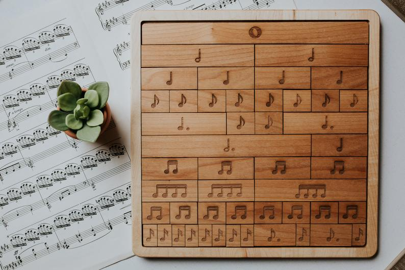 Music Fraction Bars Credit: Courtesy of Mirus Toys, Etsy