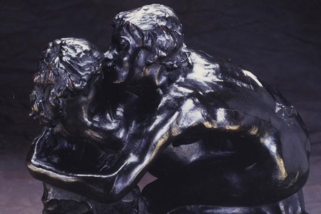 Metamorphoses of Ovid by Auguste Rodin; modeled about 1885-89; bronze; Perzinka Foundry lent by Iris and B. Gerald Cantor Foundation.