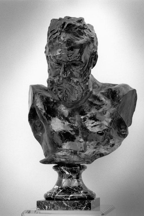 RODIN: Heroic Bust of Victor Hugo