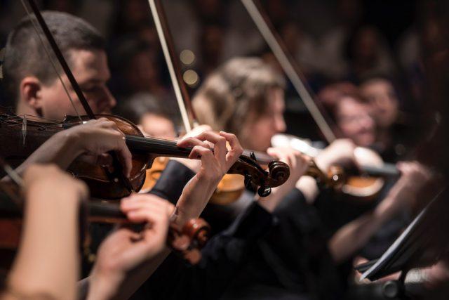 String quartet in Oradea; Photo by Larisa Birta on Unsplash
