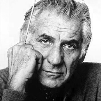 Leonard Bernstein By Jack Mitchell, CC BY-SA 4.0.
