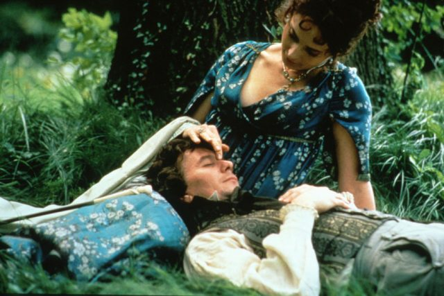 Gary Oldman as Ludwig van Beethoven and Isabella Rossellini as Anna Marie Erdödy in Immortal Beloved.