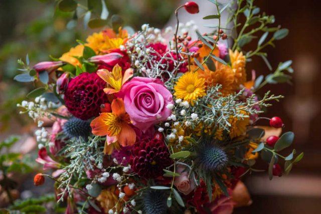 Colorful flower bouquet
