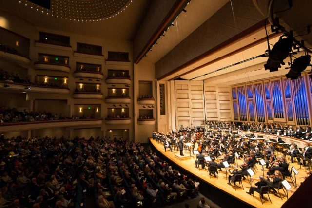 The Belk Theater at Blumenthal Performing Arts Center; Courtesy Charlotte Symphony.